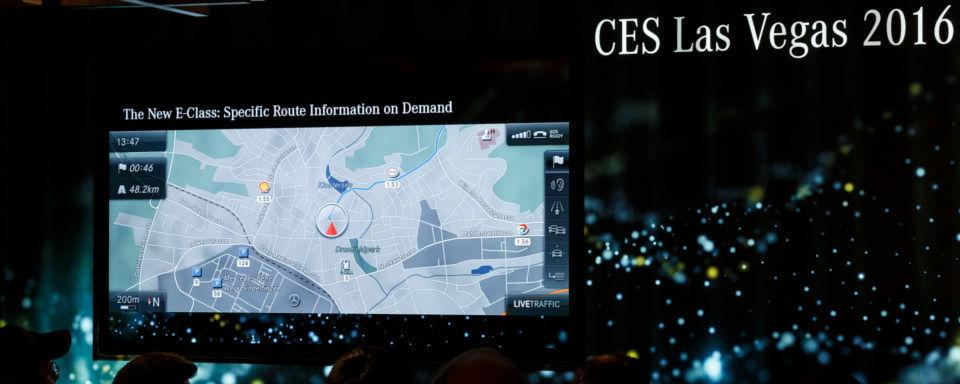 Die CES hat sich immer mehr zu einer Automobilmesse gemausert. OEMs wie Daimler präsentieren ihre digitalen Lösungen.
