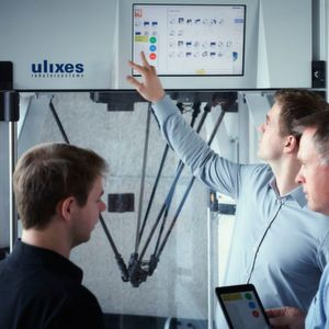 Die Software Ulixes ARP steuert Roboter mithilfe von Apps und gewährleistet durch ein einfaches Bedienprinzip und ein reaktionsschnelles System einen reibungslosen Betriebsablauf.