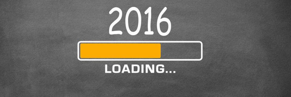 Noch läuft das Jahr 2016 quasi an - Zeit für Prognosen und Reflektionen.