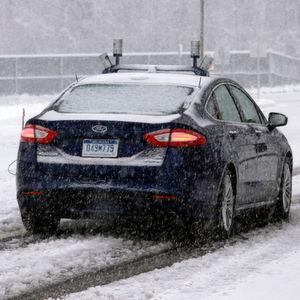 Nach eigenen Angaben ist Ford der erste Hersteller, der autonome Fahrzeuge bei Schnee testet.