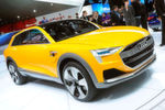 """Zudem im Gepäck der Ingolstädter: Die Studie """"H-Tron Quattro', ein Wasserstoffauto mit – laut Hersteller – 600 Kilometern Reichweite."""