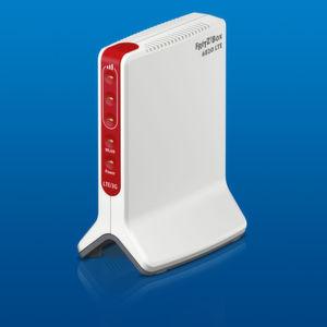 Der Empfang der LTE-Fritz!Box soll durch den aufrechten Stand verbessert werden.