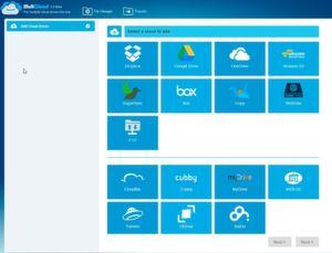 Mit Multcloud verwalten Administratoren ihre Cloudspeicher in einer gemeinsamen Oberfläche und können auch Daten zwischen den Speichern verschieben.