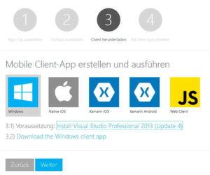 Mit Azure App Service können Entwickler Mobile-Apps und Webanwendungen online in Microsoft Azure erstellen.