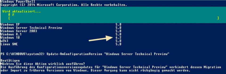 Betreiben Unternehmen im Cluster Knoten mit Windows Server 2016 und Windows Server 2012 R2, können Administratoren VMs zwischen den Knoten verschieben.