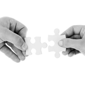 Zwei Welten zusammenfügen: Das ist die Aufgabe bei Firmenfusionen oder -käufen.