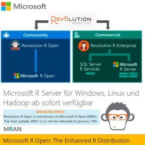 """Microsoft treibt die """"R-evolution"""" von R voran."""