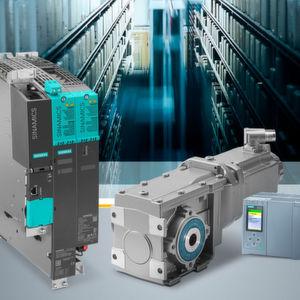 Siemens hat sein Antriebsportfolio für Servoapplikationen um den Servogetriebemotor Simotics S-1FG1 erweitert, welcher passgenau auf das Umrichtersystem Sinamics S120 abgestimmt ist.