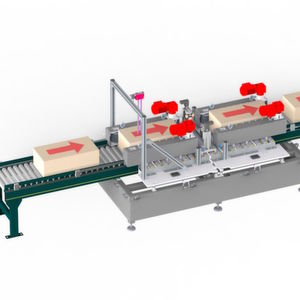 Der Paketöffner ZAR (Zahnriemenantrieb) eignet sich für seitliche Schnitte oder Perforation und ist in erster Linie für kleinere Kartons konzipiert.
