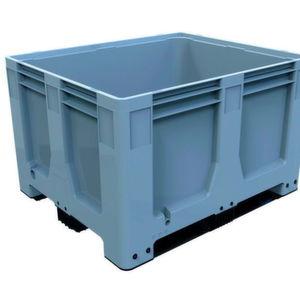Auf der Logimat 2016 präsentiert Schoeller Allibert seine neue Big Box Maxilog.
