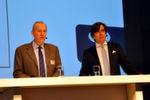 Herman Claes, Geschäftsführer von Ssangyong Motors Europe (li.), und Ulrich Mehling, Geschäftsführer von Ssangyong Motors Deutschland, verkündeten ihre Wachstumspläne.