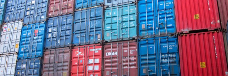 Container: Eine Krise in China könnte Deutschland schwer treffen