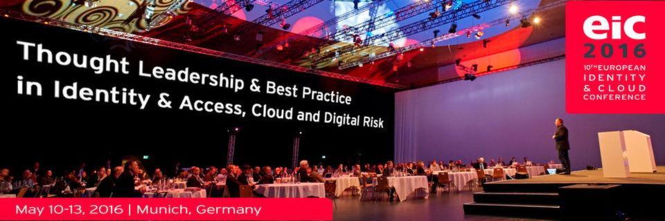 Auf der EIC 2016 werden die European Identity & Cloud Awards im Rahmen einer Abendveranstaltung verliehen.