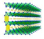 Schematische Struktur der hergestellten Schichtoxide.