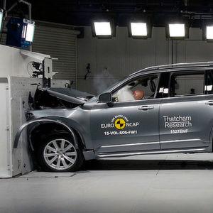 Der Volvo XC90 erhielt beim NCAP-Crashtest vergangenes Jahr die beste Bewertung aller geprüften Autos.