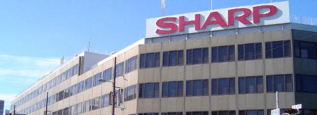 Sharp-Hauptquartier in Abeno-ku im japanischen Osaka: Wie verschiedene Medien berichten ist der taiwanesische Fertigungsbetrieb Hon Hai Precision Industry, besser bekannt als Foxconn, bereit, bis zu 5,9 Milliarden US-$ für die Übernahme des angeschlagenen Elektronikriesen zu investieren.