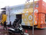 NXP Smarter World Tour: Mit einem 36-Tonner Doppeldecker-Truck fährt NXP in den nächsten Monaten durch Europa, um zusammen mit Eventpartnern in einer mobilen Ausstellung 138 Vernetzungs- und IoT-Lösungen zu präsentieren.