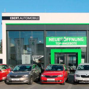 Das Skoda-Autohaus in Bensheim ist seit 28. Dezember wieder geöffnet, jetzt als Teil der Ebert-Gruppe.