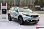Den Prototypen des elektrisch angetriebenen Qoros 5 SUV stellte das Unternehmen am 18. Januar im chinesischen Suzhou Medien, Banken, Politikern und potentiellen Investoren vor.