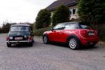 Bei unserem Testfahrzeug, das der Dortmunder KFZ-Händler Michael Cassing bereitstellte, handelt es sich um einen 71er Mini der dritten Generation.