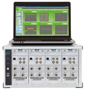 Das Universal Wireless Test Set MT8870A von Anritsu unterstützt 802.11p, Bluetooth DLE und Z-Wave bei Frequenzen zwischen 10 MHz und 6 GHz.