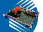AdvancedTCA-Prozessorboard AT8020 von 2006: Es erfüllt die Anforderungen der großen Telekommunikationsausrüster (TEMs) und bietet zwei Intel-Xeon-Dualcore-Prozessoren LV (Low Voltage)