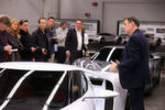 Ford US-Design-Chef Chris Svensson führte durch das Entwicklungsstudio in Dearborn.