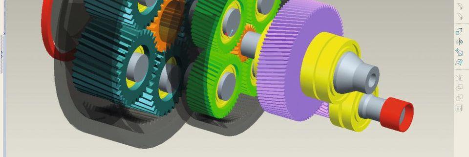 Mit dem CAD-Tool von Kisssoft hat der Konstrukteur alles unter einem Hut: Berechnung, Ausgabe und Fertigungsdaten.