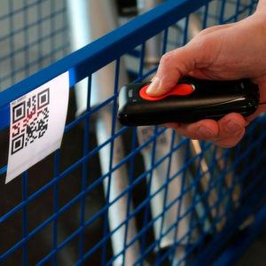 Am Abat-Stand wird beispielsweise die Buchung mit einem Bluetooth-Scanner gezeigt.