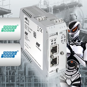 Direkte Gateway-Integration von Profibus PA-Geräten in Profinet-Netze