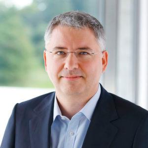 Konzern-Chef Severin Schwan ist sehr zufrieden mit den Fortschritten in der Produkt-Pipeline.