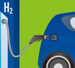 Wasserstoffspeicher arbeitet wie ein Schwamm
