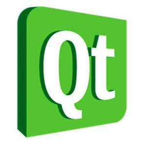 Das Qt-Logo.
