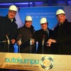 Outokumpu feiert Richtfest im Krefelder Kaltwalzwerk