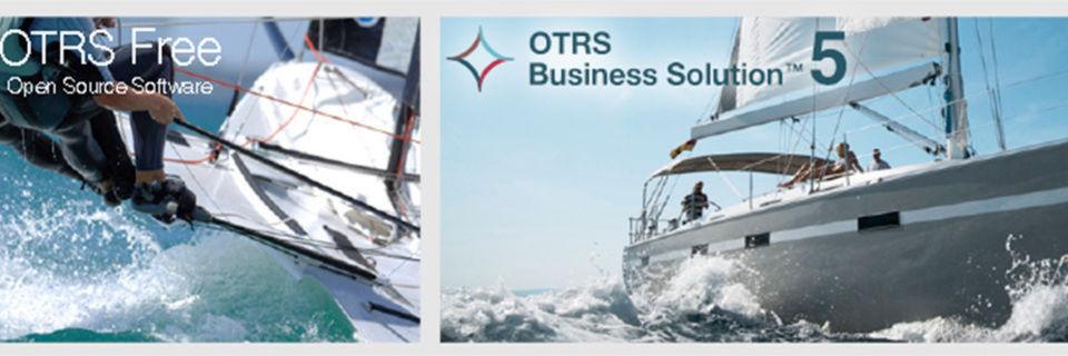 Es gibt eine frei verfügbare Version von OTRS sowie eine kommerzielle. Auf der Site der OTRS Gruppe findet sich ein Feature-Vergleich.