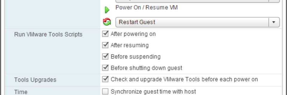 VMware-Tools im Web-Client