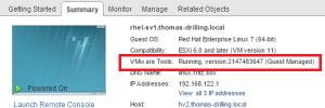 Open-VM-Tools versus VMware Tools