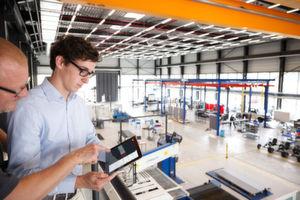 In der Demofabrik am WZL in Aachen können Unternehmen produktionssystematische Fragestellungen in einem realen Betrieb untersuchen.