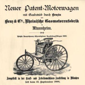 Vor 130 Jahren war es soweit: Das erste Automobil wurde amtlich.