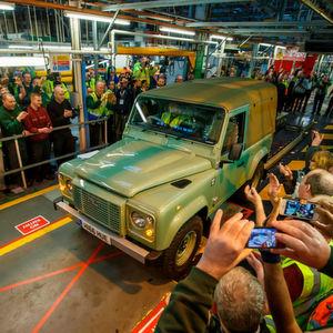 Der Land Rover Defender wird künftig nicht mehr produziert.