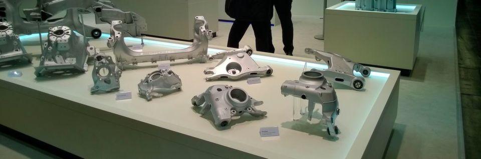 Martinrea Honsel stellt maßgeschneiderte Aluminiumguss-Lösungen für Motor, Getriebe, Fahrwerk und Karosserie vor.