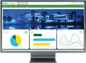 Ein weiteres Software-Produkt von Schneider Electric ist StruxureWare Power Monitoring für das Management von Stromverbräuchen.