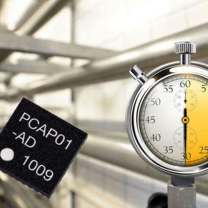 Bild 1: Ein Time-to-Digital-Converter (TDC) misst kurze Zeitintervalle und wandelt das Ergebnis in einen digitalen elektrischen Wert um.
