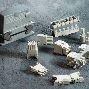 TE Connectivity präsentiert eine neue Serie robuster Rechtecksteckverbinder.