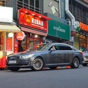 Der Genesis G90 ist das erste Modell, das unter dem Label der neuen koreanischen Luxusmarke an den Start geht.