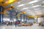 In der neuen Montagehalle von Burckhardt Compression in Winterthur sorgen unter anderem zwei Zweiträgerbrückenkrane und sieben Wandlaufkrane von Konecranes für einen reibungslosen Produktionsprozess.