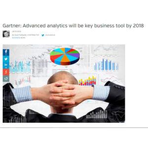 Nach Einschätzung von Gartner werden bis 2018 mehr als die Hälfte aller Großunternehmen Advanced Analytics einsetzen.