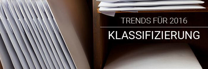 Posteingangsklassifzierung: Trends 2016