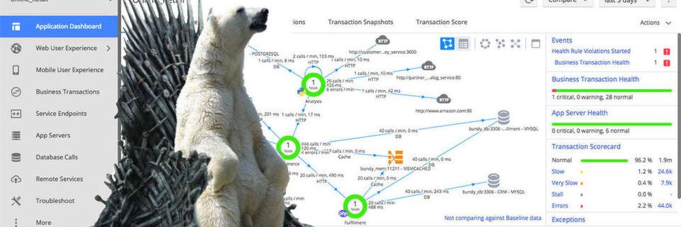 """Nach dem Projekt """"Polar Bear"""", bei dem unter anderem das Applikation-Performance-Tool von Appdynamics eingeführt wurde, läuft das Streaming von """"Game of Thrones"""" besser."""