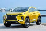 Die auf der Tokio Motorshow 2015 erstmals gezeigte Mitsubishi-Studie Concept-eX feiert auf dem Genfer Autosalon Europapremiere.